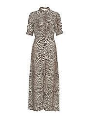 Lydia Leopard Maxi Dress - LEOPARD