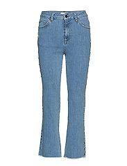 Kayla Cropped Jeans S - LIGHT BLUE