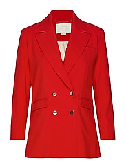 Notes du Nord Maddy Blazer - SCARLET RED