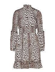 Maxine Dress - LEOPARD