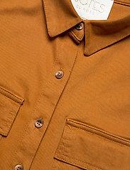 Notes du Nord - Nancy Shirt - overshirts - cognac - 2