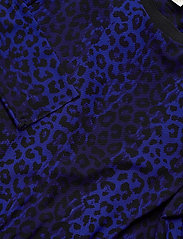 Notes du Nord - Naomi Loose Dress - vardagsklänningar - navy leopard - 2