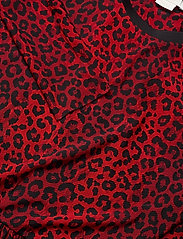 Notes du Nord - Naomi Loose Dress - vardagsklänningar - poppy leopard - 2
