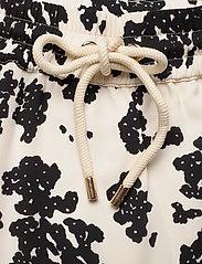 Notes du Nord - Orchid Recycled Skirt P - maxikjolar - noir flower - 2