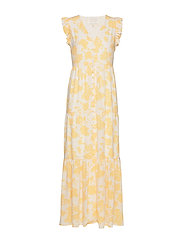 Orchid Recycled Maxi Dress P - LEMON FLOWER