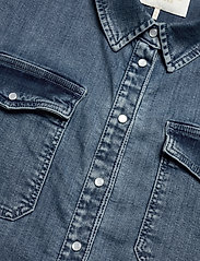Notes du Nord - Phoenix Denim Shirt - jeansskjortor - blue wash - 2