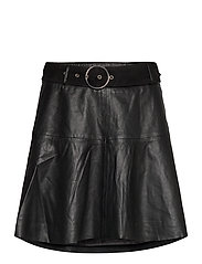 Parker Leather Skirt - NOIR