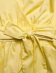 Notes du Nord - Pollie Top - kortärmade blusar - lemon - 3
