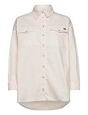 Phoenix Denim Shirt Cream - CREAM