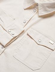 Notes du Nord - Phoenix Denim Shirt Cream - overshirts - cream - 2