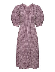 Pam Dress - ROSE CHECK