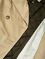 Notes du Nord - Ricci Coat - trenchcoats - nude - 5