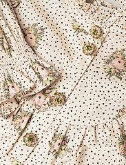 Notes du Nord - Rina Loose Dress - midiklänningar - flower dot - 3
