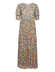 Pearl Dress - PINK FLOWER