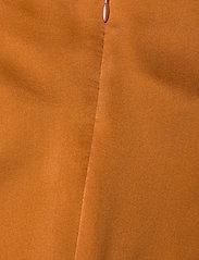 Notes du Nord - Rosalia Silk Dress - maxiklänningar - burnt orange - 3