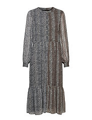 Sophie Recycled Dress - LEOPARD