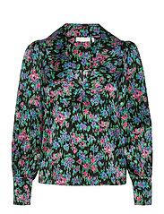 Sara Organic Silk Blouse - FLOWER  DREAM