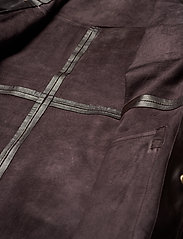 Notes du Nord - Sydney Leather Shirt - skinnjackor - dark chocolate - 2