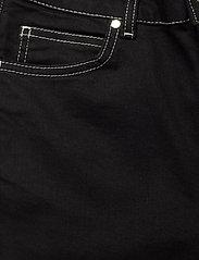 Notes du Nord - Selina Noir Cropped Jeans - utsvängda jeans - noir - 2