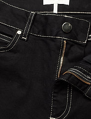 Notes du Nord - Selina Noir Cropped Jeans - utsvängda jeans - noir - 3