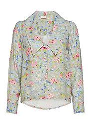 Samantha Flower Shirt - ROMANTIC FLOWER