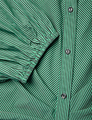 Notes du Nord - Whitney Dress - vardagsklänningar - green stripe - 3