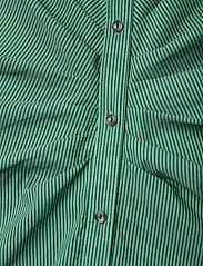 Notes du Nord - Whitney Dress - vardagsklänningar - green stripe - 4