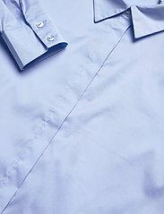 Notes du Nord - Kira Shirt X - långärmade skjortor - blue sky - 2