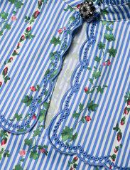 Notes du Nord - Ace Dress - kveldskjoler - flower stripe - 3