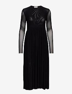 Haylie Long Dress - NOIR