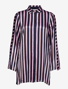 Josephine Shirt - MIDNIGHT STRIPE