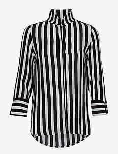 Kenzie Shirt - NOIR STRIPE