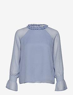 Klaire Blouse - TWILIGHT BLUE