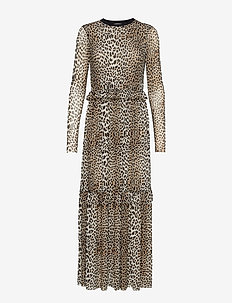 Libby Dress - LEOPARD