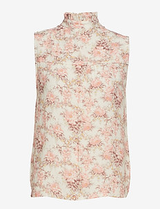 Lydia Flower Top - ROMANTIC FLOWER