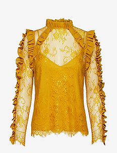 Leela Blouse - HARVEST GOLD