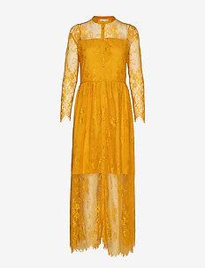 Leela Loose Dress - HARVEST GOLD