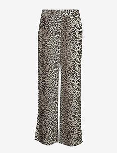 Lydia Leopard Pants - LEOPARD