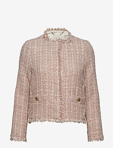 Lex Rose Short Jacket - ROSE MELANGE