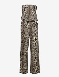 Dallas Jumpsuit P - jumpsuits - leopard