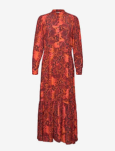 Monroe Dress - SCARLET SNAKE