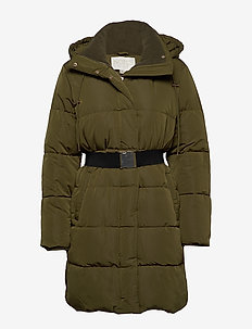 Molly Vegan Down Coat - ARMY