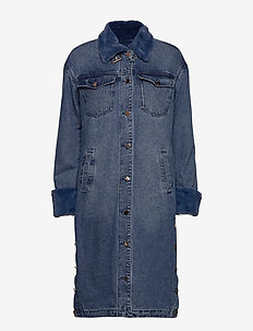 Malou Coat - BLUE WASH