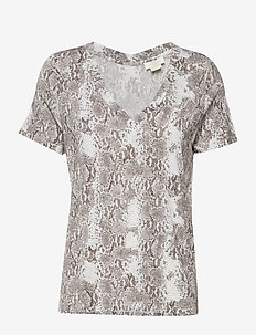 Dallas T-Shirt P - NOIR SNAKE