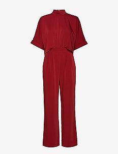 Nanna Jumpsuit - jumpsuits - cabernet