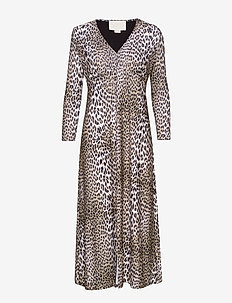 Nicci Dress P - LEOPARD
