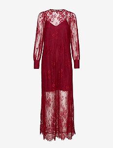 Night Maxi Dress - CABERNET