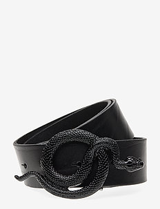 Milo Leather Belt - NOIR