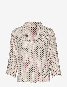 Olivia Shirt - long sleeved blouses - petite flower