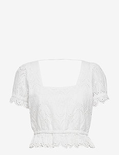 Omia Top - crop tops - white